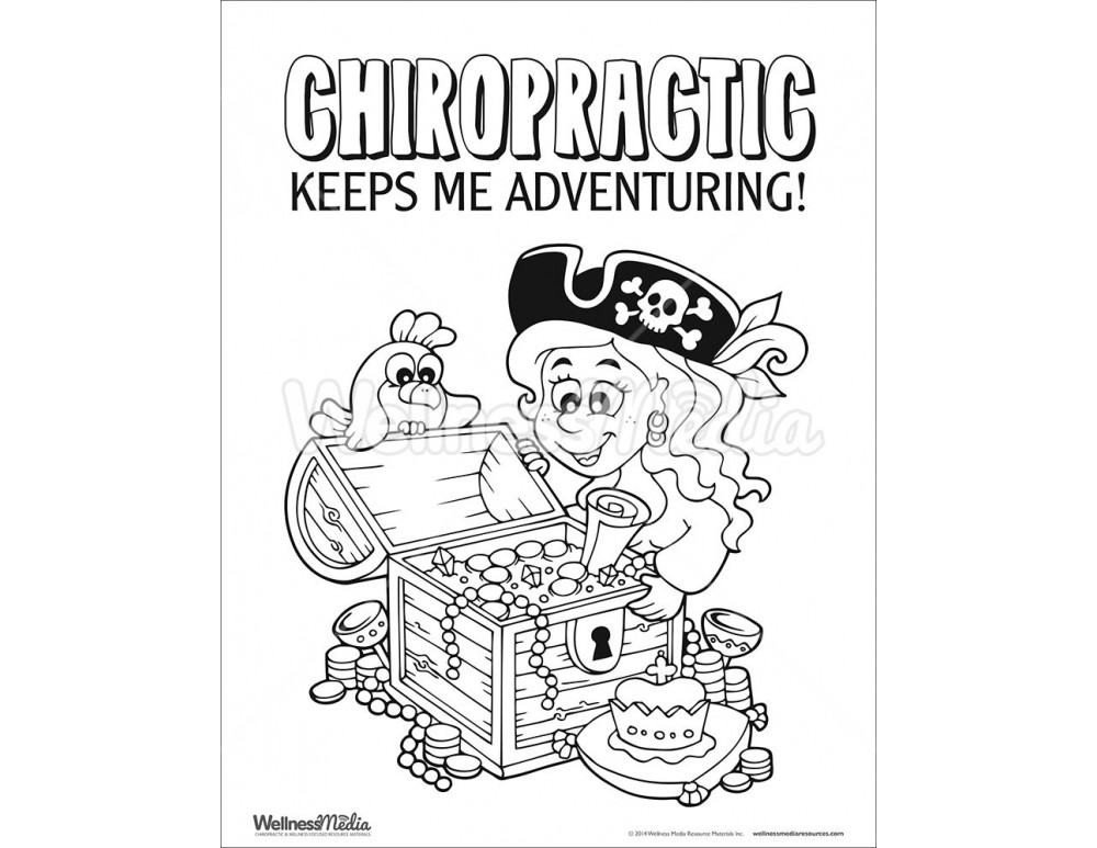 chiropractic coloring sheets