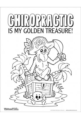 Chiropractic Themed Coloring Sheets