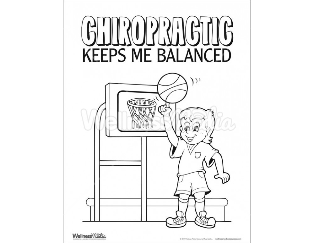 chiropractor coloring pages - photo#24