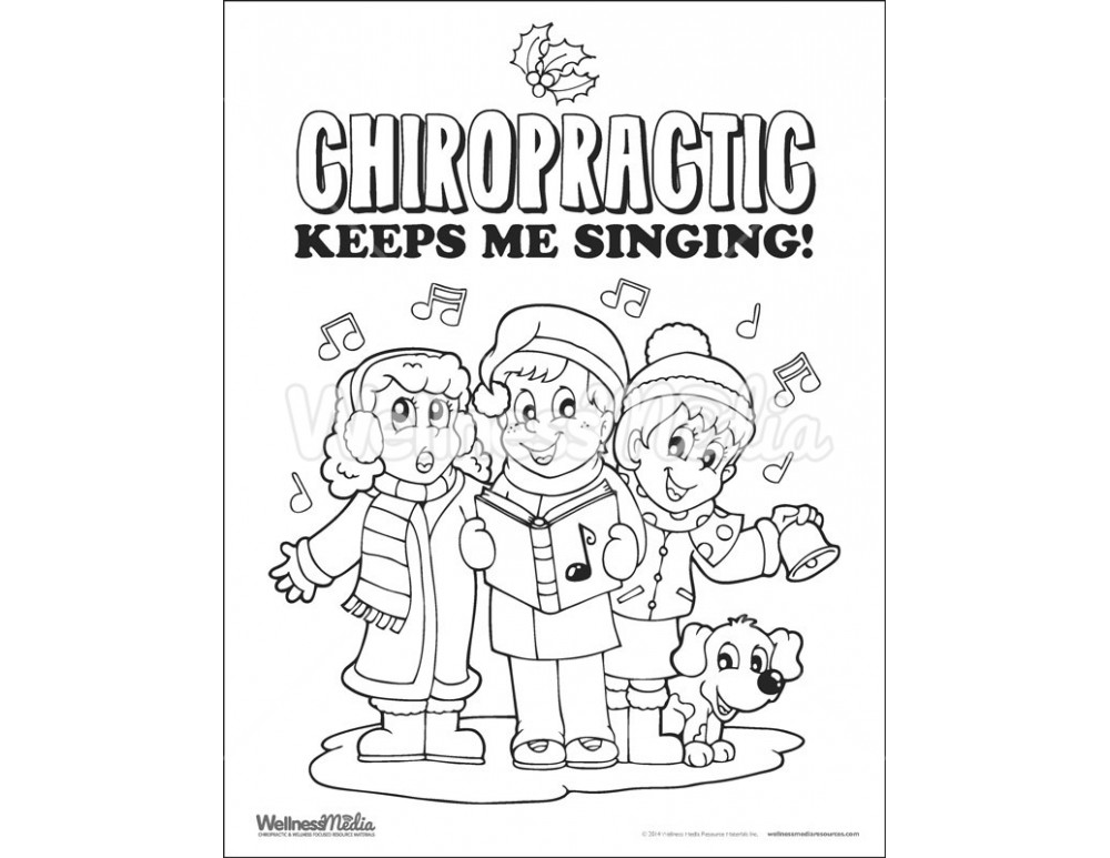 chiropractor coloring pages - photo#12