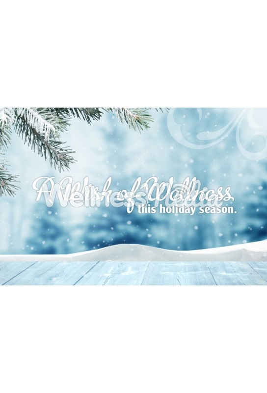 Wish of Wellness Holiday Postcard