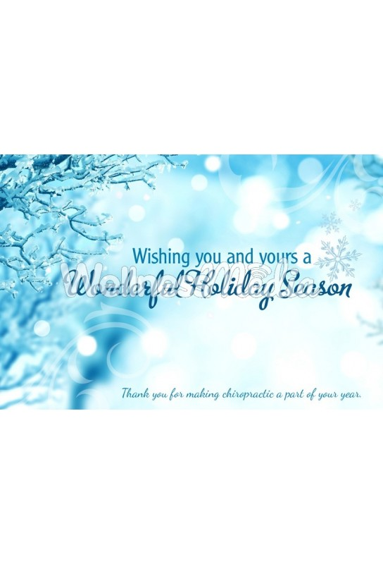 Wonderful Holiday Season Postcard