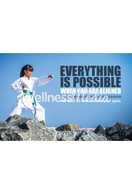 Everything is Possible Chiropractic Postcard (2)
