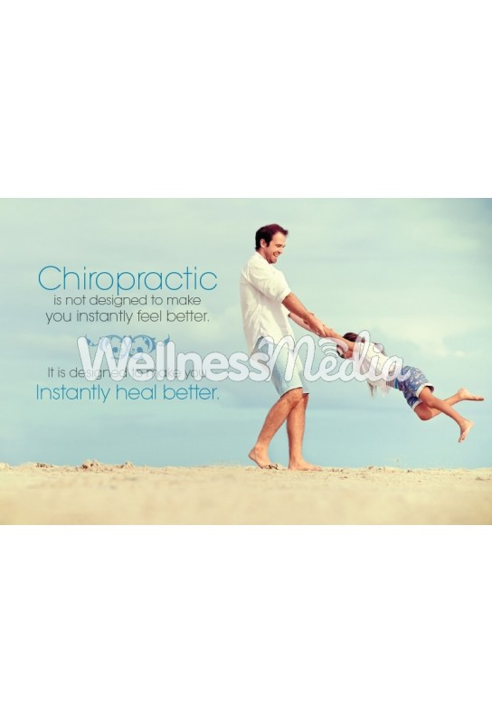 Instantly Heal Better Chiropractic Postcard (2)