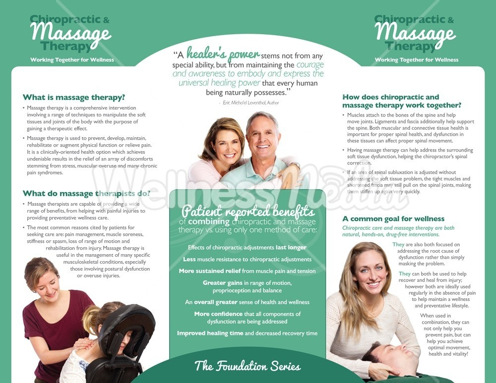 Chiropractic And Massage Brochure