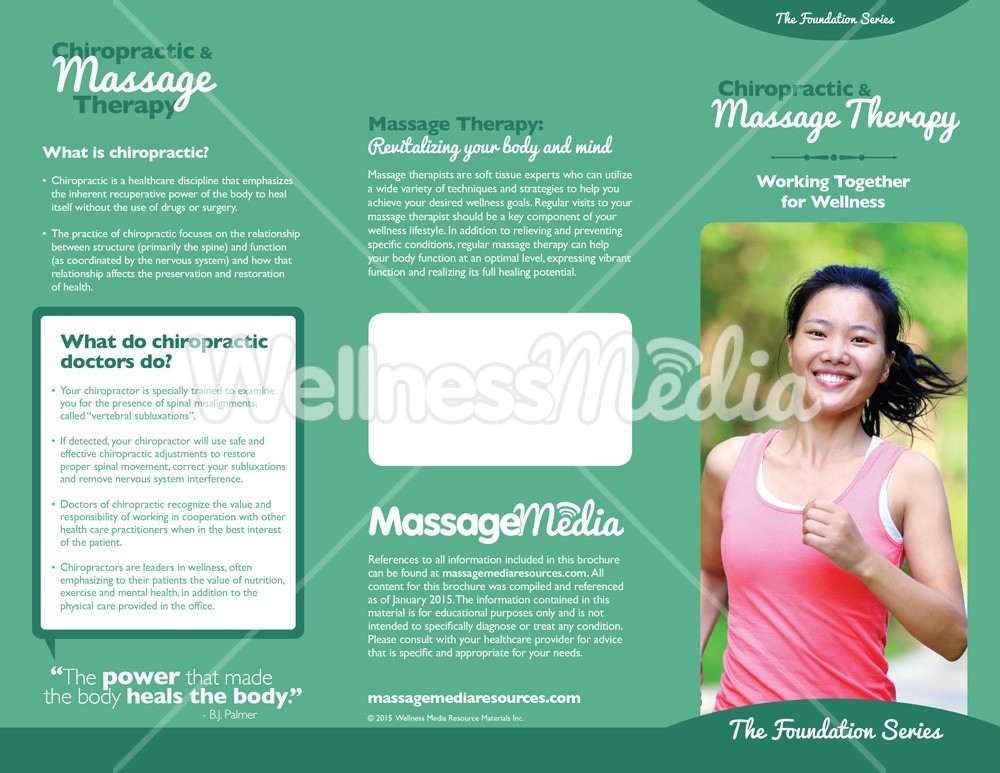 Charming Chiropractic And Massage Therapy Brochure Maximize. Cancel Display All  Pictures