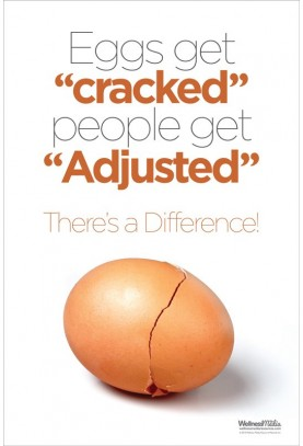 Eggs Get Cracked Poster