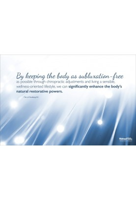 Subluxation Free Quote Poster