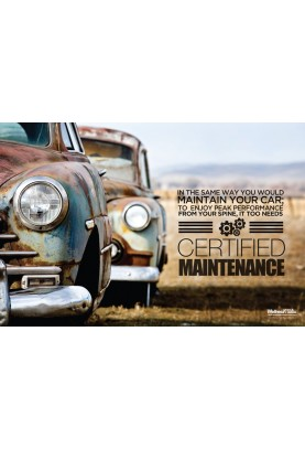 Certified Maintenance Poster