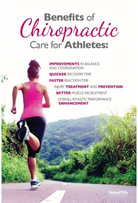 Chiropractic Care for Athletes (Runner) Poster