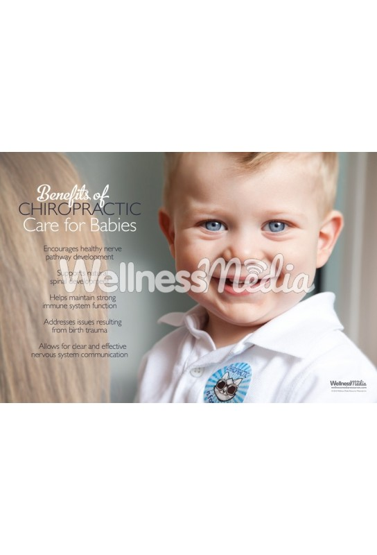 Babies and Chiropractic Care Poster
