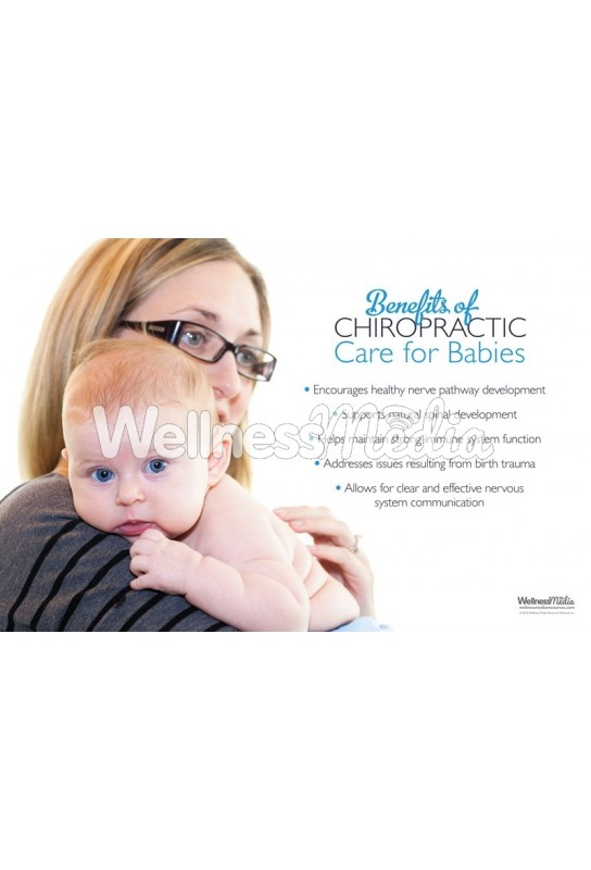 Babies and Chiropractic Care Poster (2)