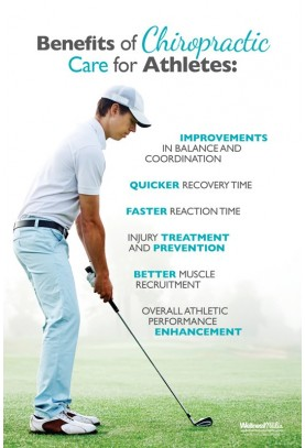 Chiropractic Care for Athletes (Golfer) Poster