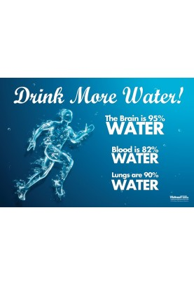 Drink More Water Poster