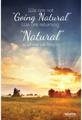 Going Natural Poster