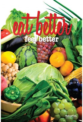 Eat Better, Feel Better Poster