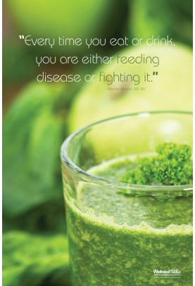Feeding or Fighting Disease Poster