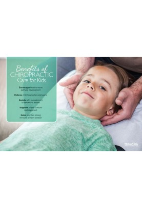 Kids and Chiropractic Care Poster