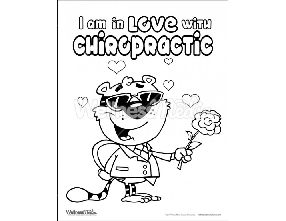chiropractor coloring pages - photo#26
