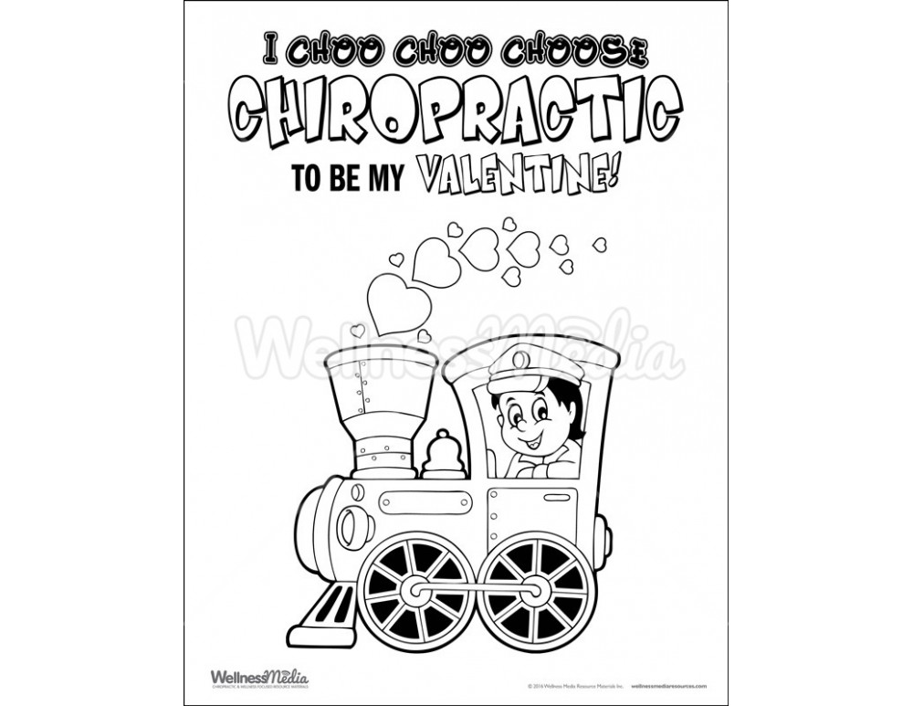 chiropractor coloring pages - photo#36
