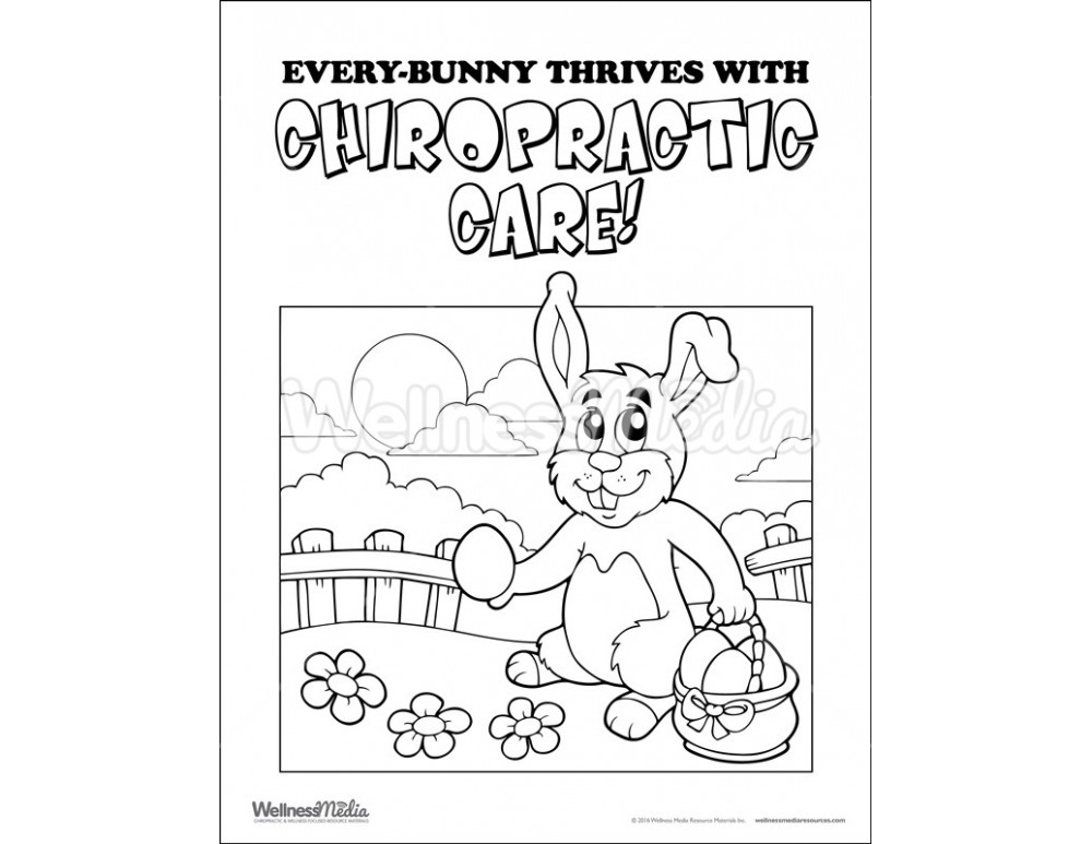 chiropractor coloring pages - photo#17