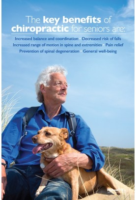 Chiropractic For Seniors Benefits Poster (2)