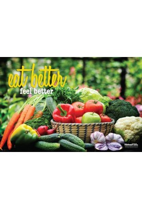 Eat Better, Feel Better Poster (2)