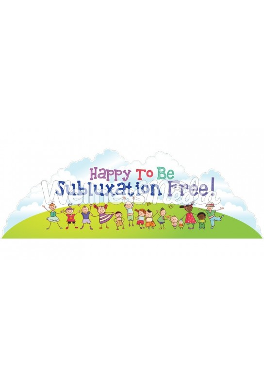 Happy to Be Subluxation Free Kids Wall Art