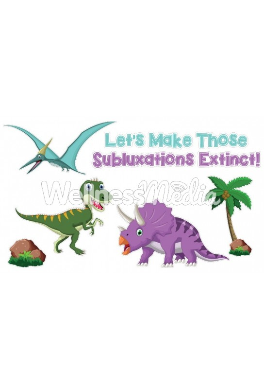 Make Subluxations Extinct Wall Art