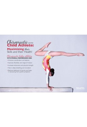 Child Athlete Gymnastics Poster
