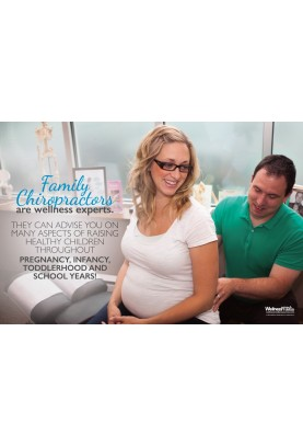 Family Chiropractors are Wellness Experts Poster (2)