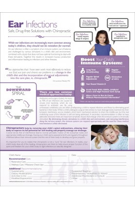 Chiropractic Ear Infections ROF Handout