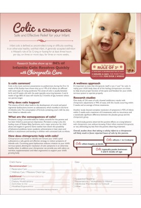 Colic and Chiropractic ROF Handout