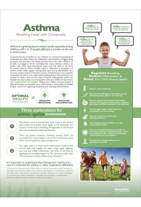 Chiropractic and Asthma Poster