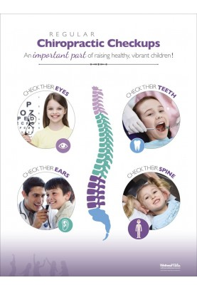 Regular Chiropractic Checkups Poster - Child
