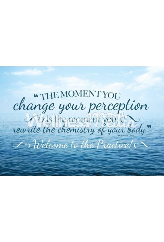 Change Your Perception Welcome Postcard
