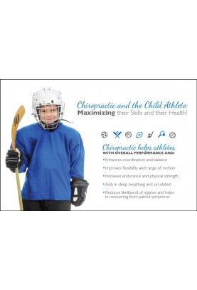 Child Athlete Hockey Postcard