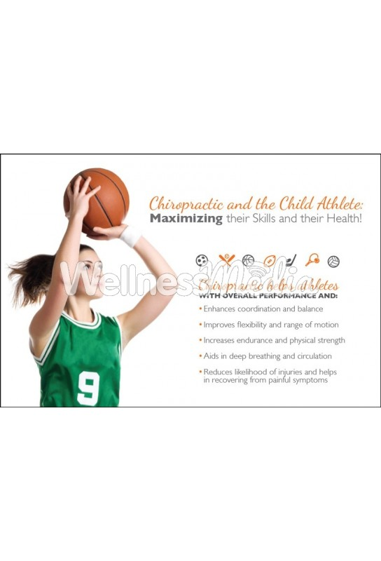 Child Athlete Basketball Postcard