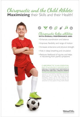 Child Athlete Soccer Poster (2)