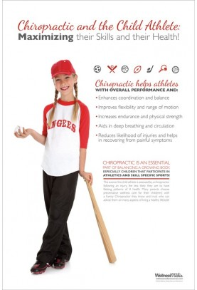Child Athlete Baseball Poster (2)