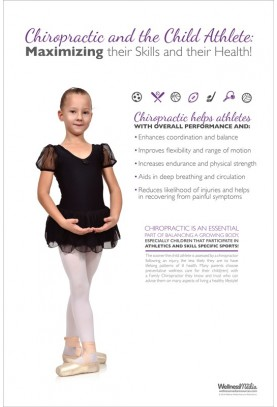 Child Athlete Ballet Poster