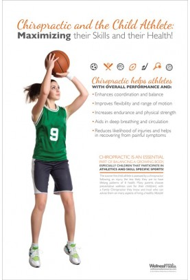Child Athlete Basketball Poster