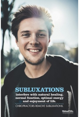 Subluxations Interfere Poster - Male