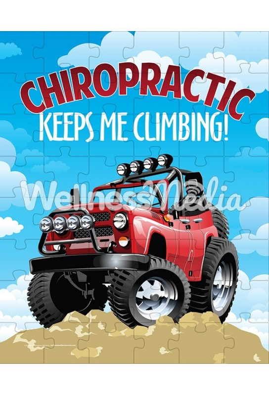Chiropractic Keeps Me Climbing Puzzle