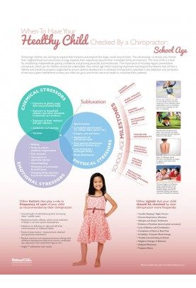 Healthy Child Check-Up Poster: School Age