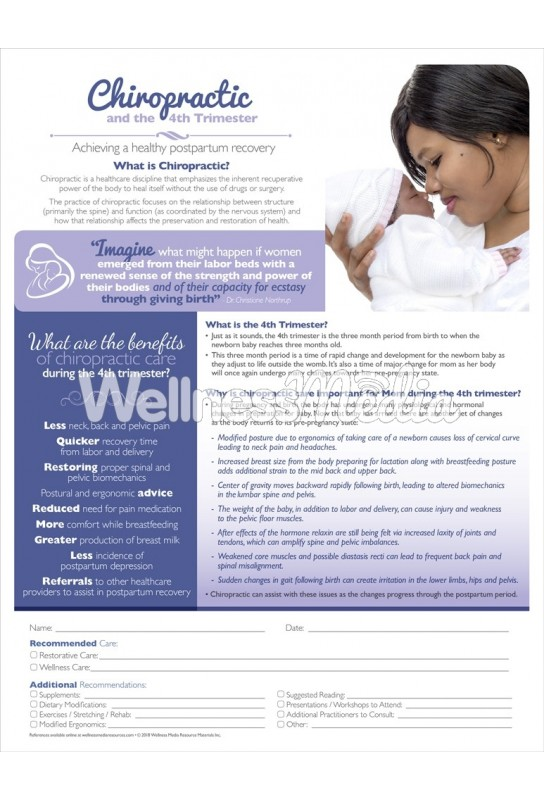 Chiropractic and The 4th Trimester ROF Handout