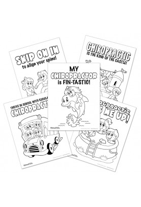 Series 10 - Chiropractic Coloring Sheets