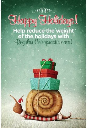 Snail Holiday Postcard