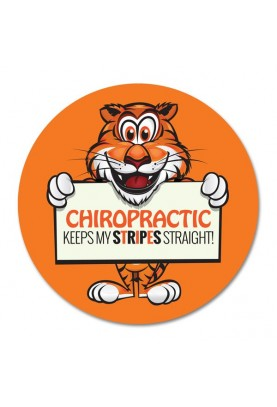 Chiropractic Keeps My Stripes Straight
