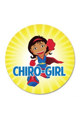 Chiro-Girl Chiropractic Sticker